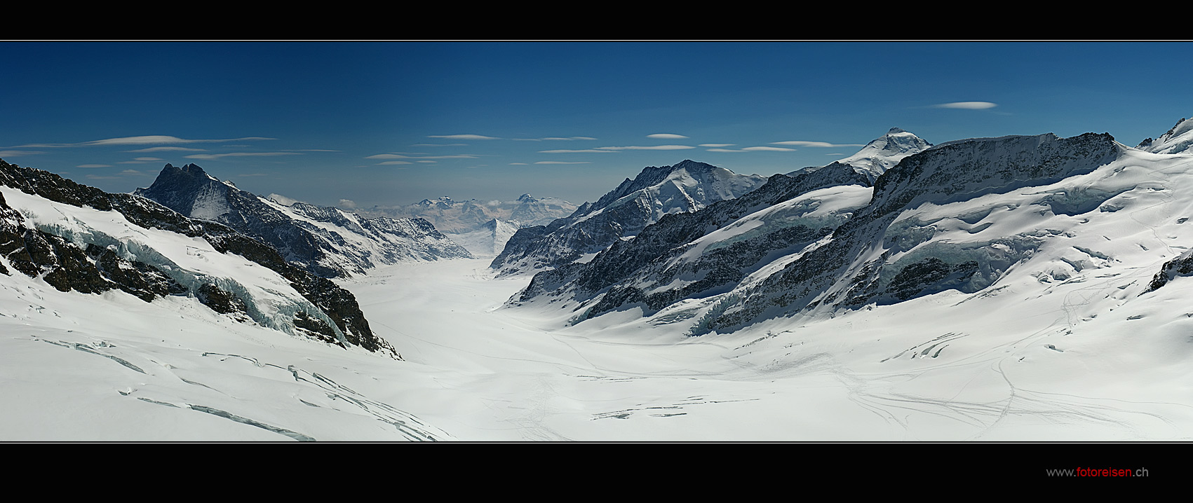 Grosser Aletschgletscher vom Jungfraujoch