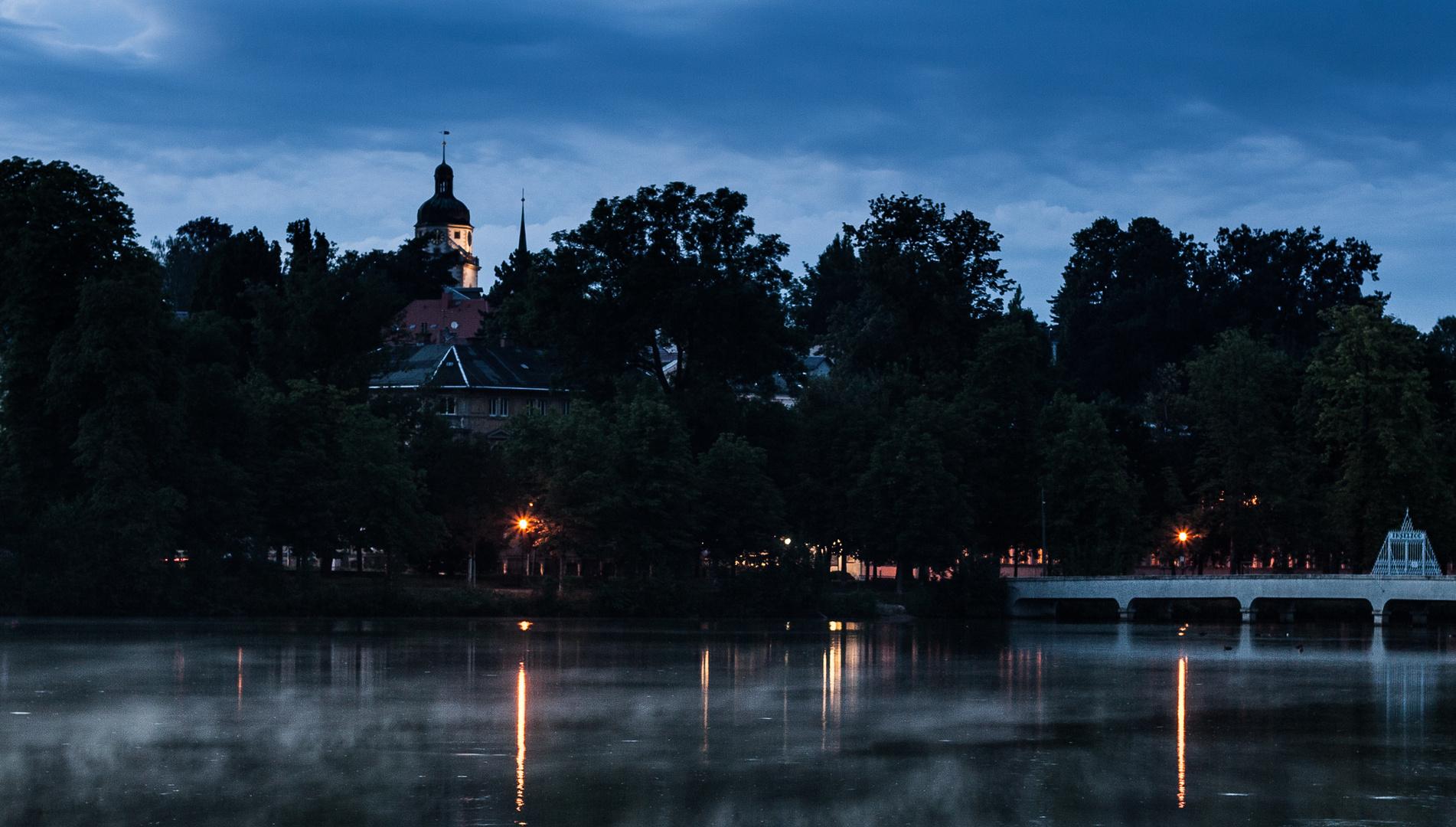 Großer Teich, Nikolaikirchturm