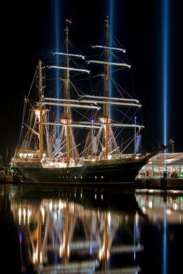 Großereignis Teil --2--: Tauftag der Alexander von Humboldt II am 24.9.2011