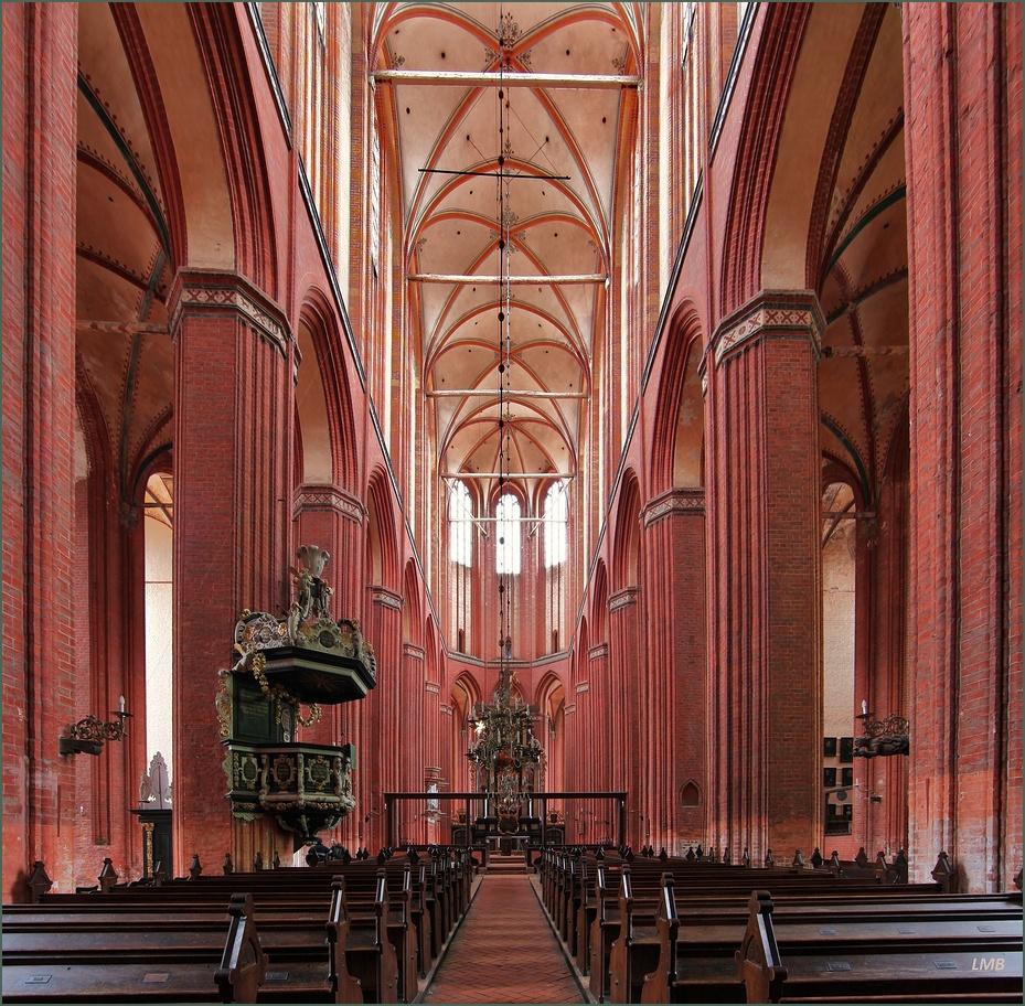 Großes Gewölbe an der Wismarer Bucht