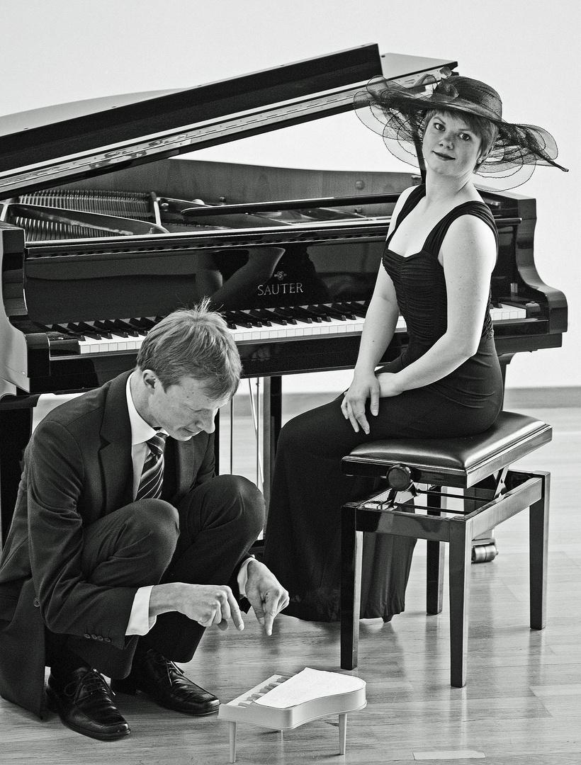 großes Klavier, kleines Klavier...