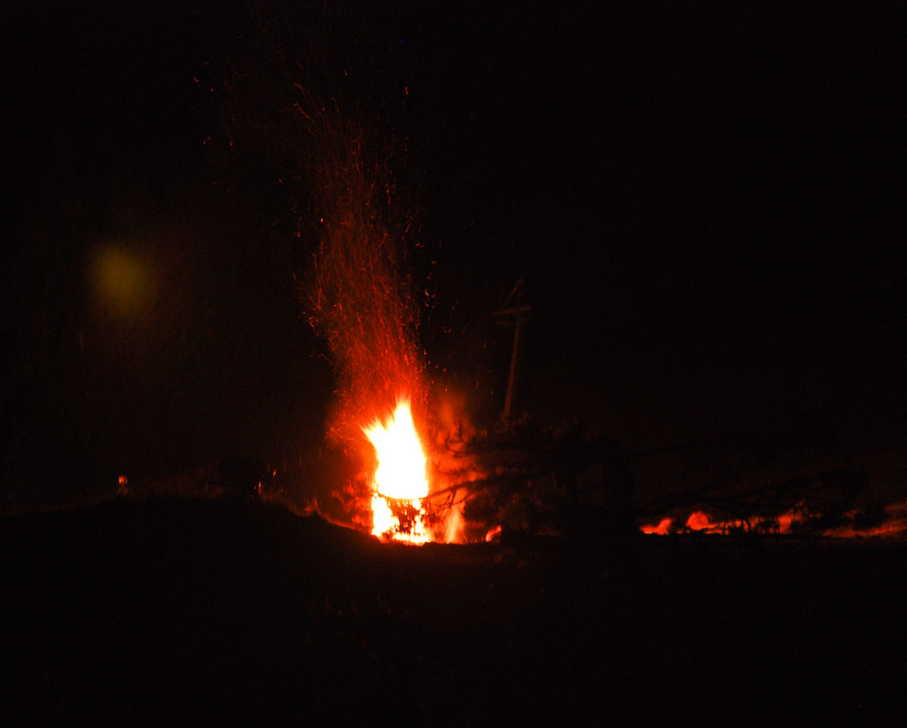 Großes Lagerfeuer