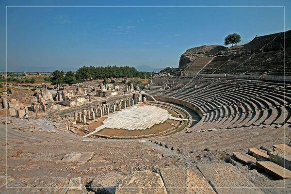 """Großes Theater"" in Ephesos"