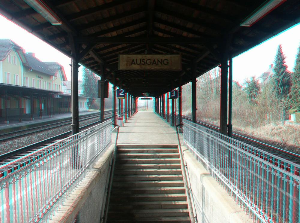 """""""Großstadtbahnhof"""" Westheim"""