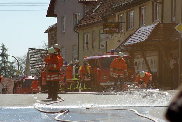 Großübung FFW Böhmenkirch 9