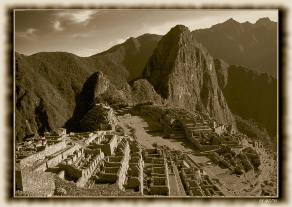 Großvater's Machu Picchu