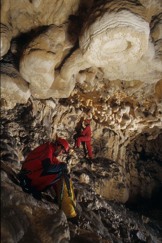 Grotta delle clave - (BG)