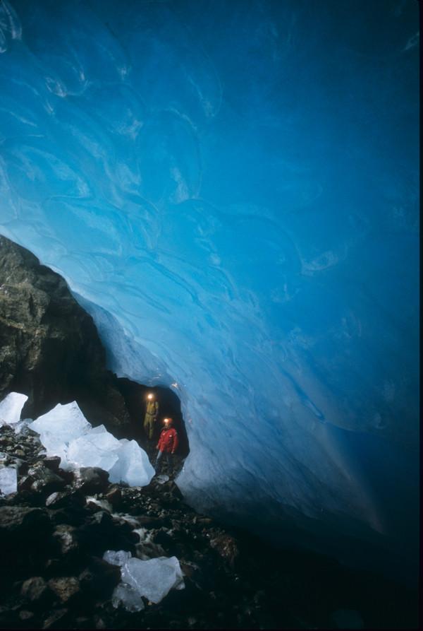 Grotta di contatto 4 - Ghiacciaio dei forni - (so)