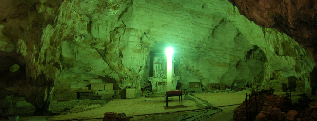 Grotta di San Michele Arcangelo.