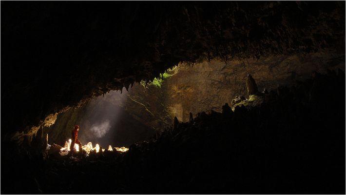 Grotta Noè, Triestiner Karst