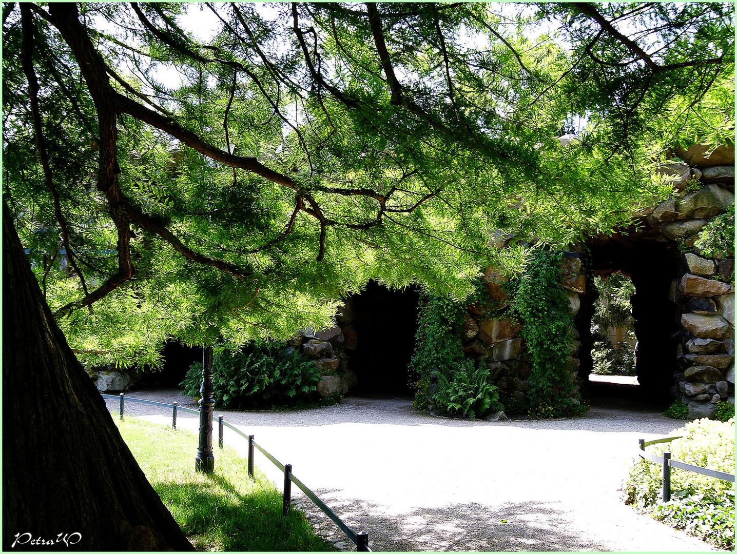 Grotte unter dem Schweriner Schloss