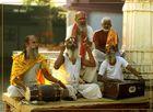 Groupe de Sadhus au Rajasthan
