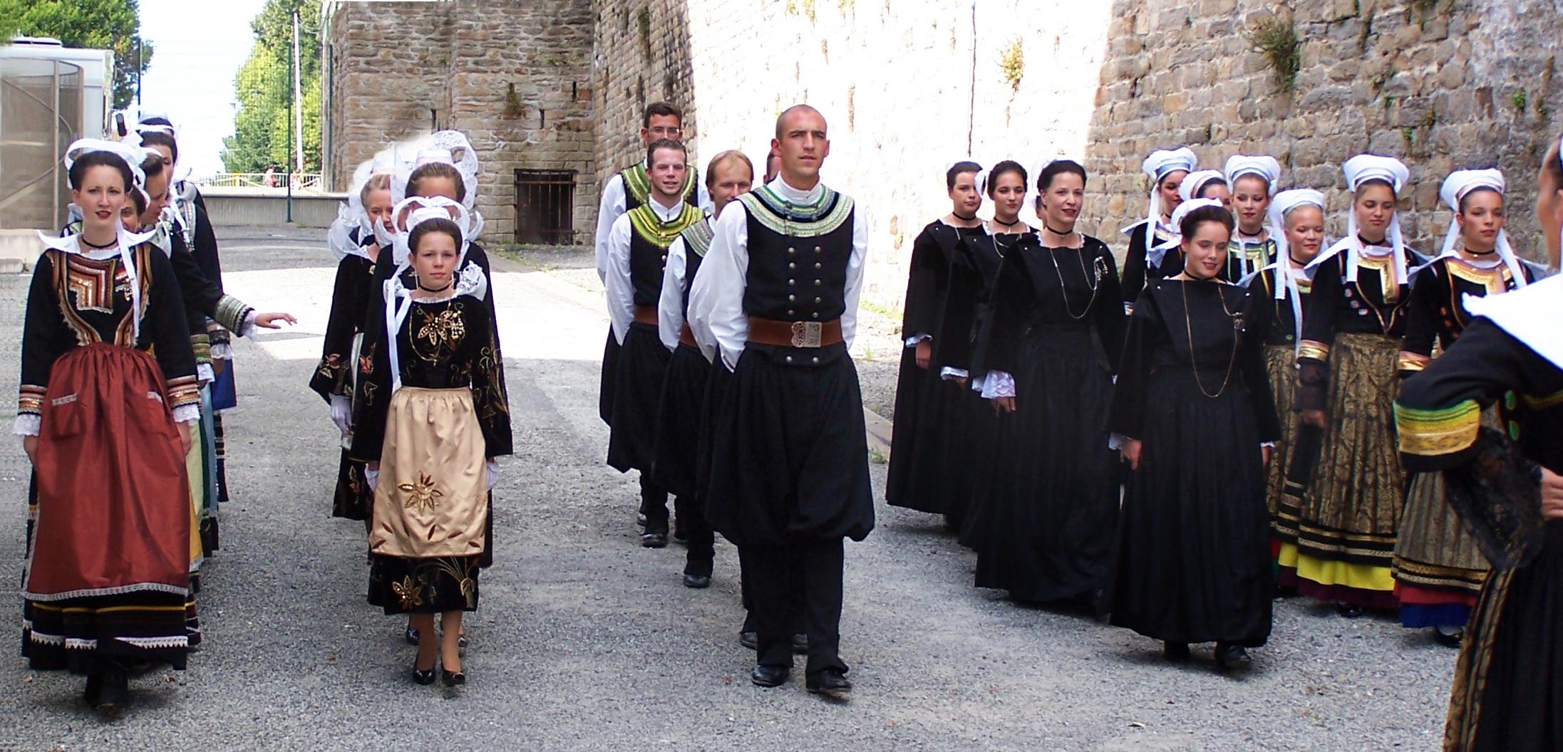 Groupe folklorique breton