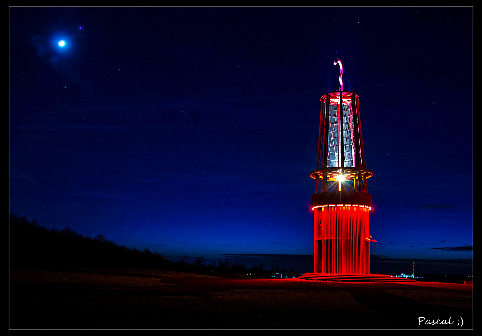 >>>> Grubenleuchte bei Nacht