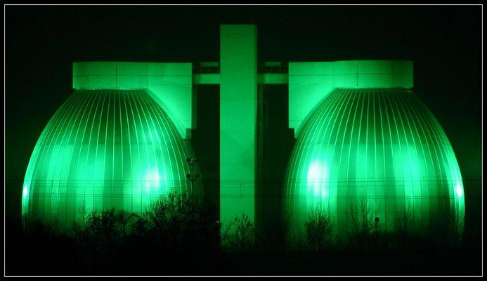 Grün bei Nacht !