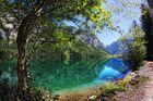 Grün-Blaue Wasserfarben