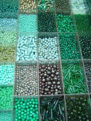 grün, grüner, am grünsten