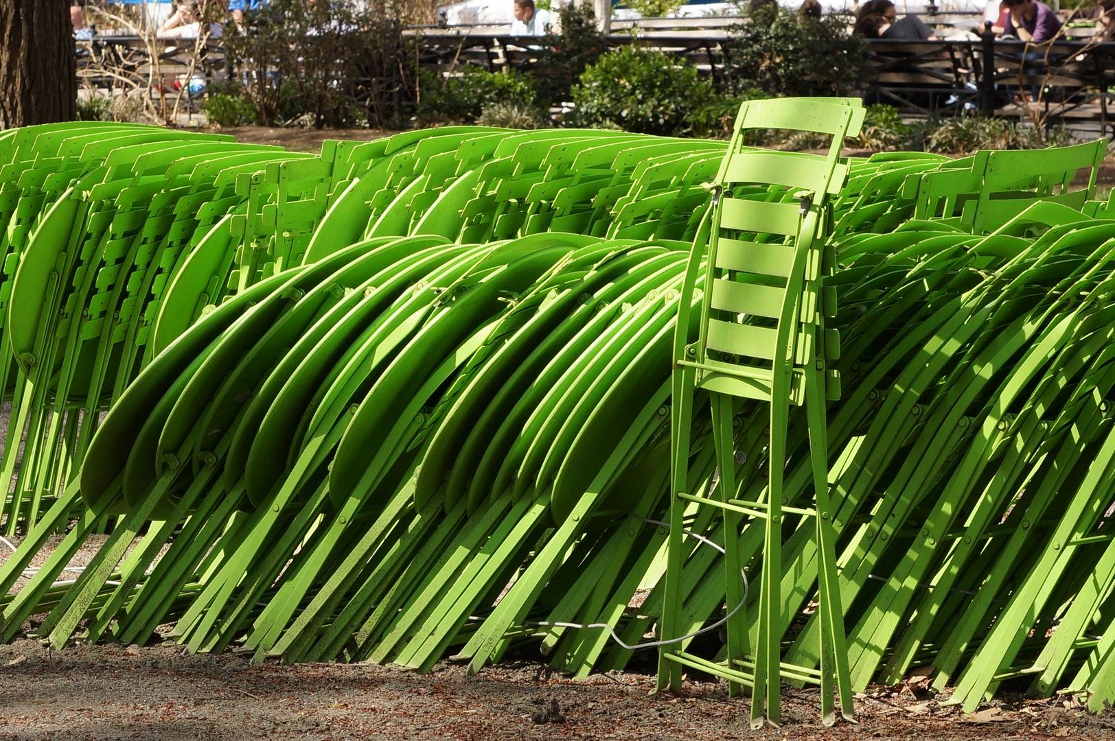 """""""Grün"""" im Union Park NY"""