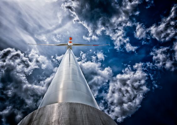 Grüne Energie - Wind