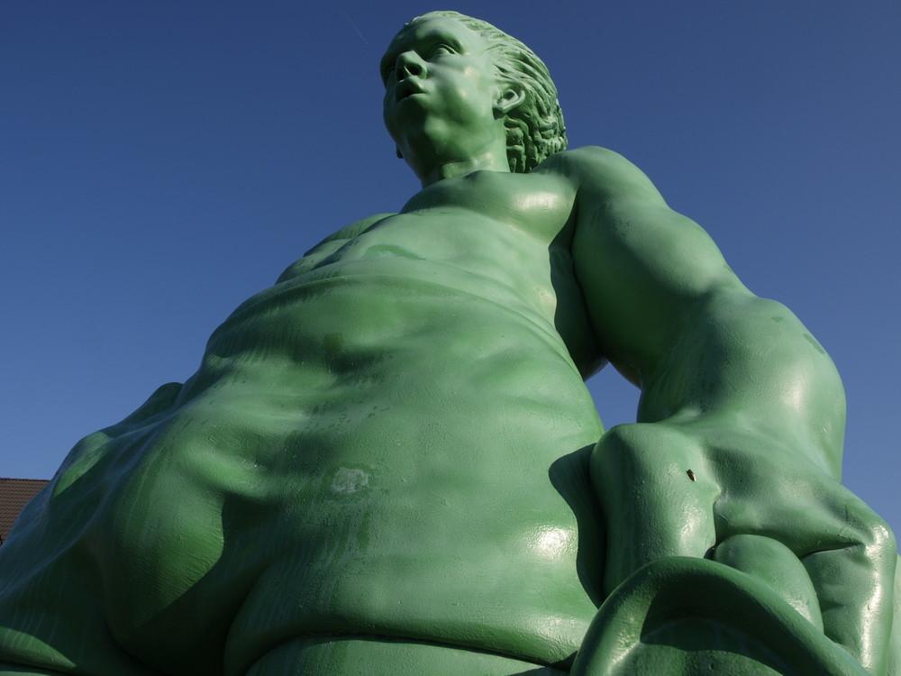 """""""Grüne Figuren"""" auf Sylt"""