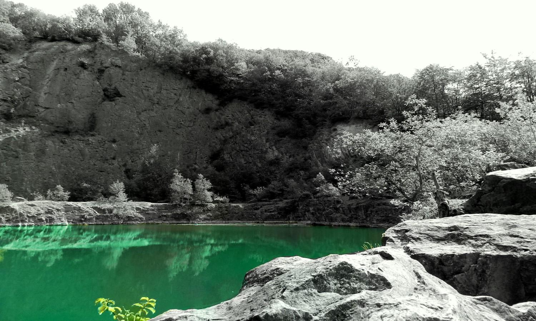 Grüne Lagune