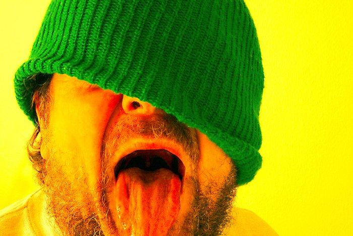 Grüne Mütze