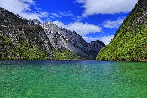 Grüner Fijord