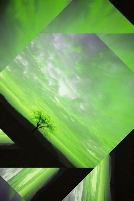 Grüner Himmel
