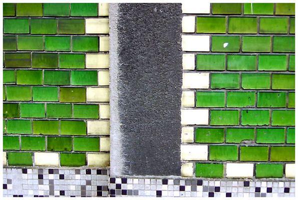 grüner Klinker