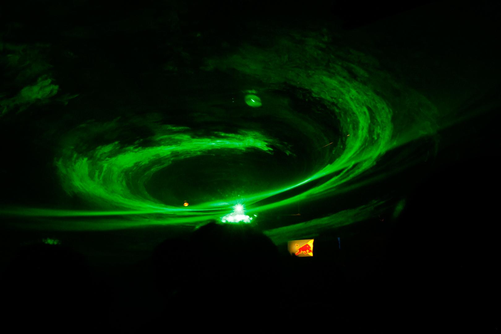 Grüner Nebel