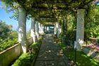Grüner Säulengang