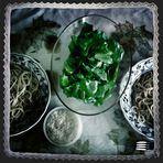grüner Salat.