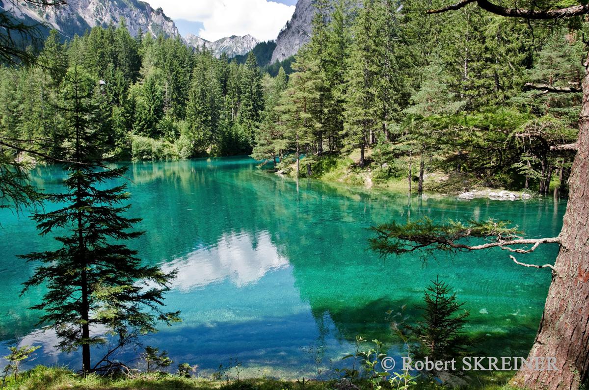 österreich Grüner See
