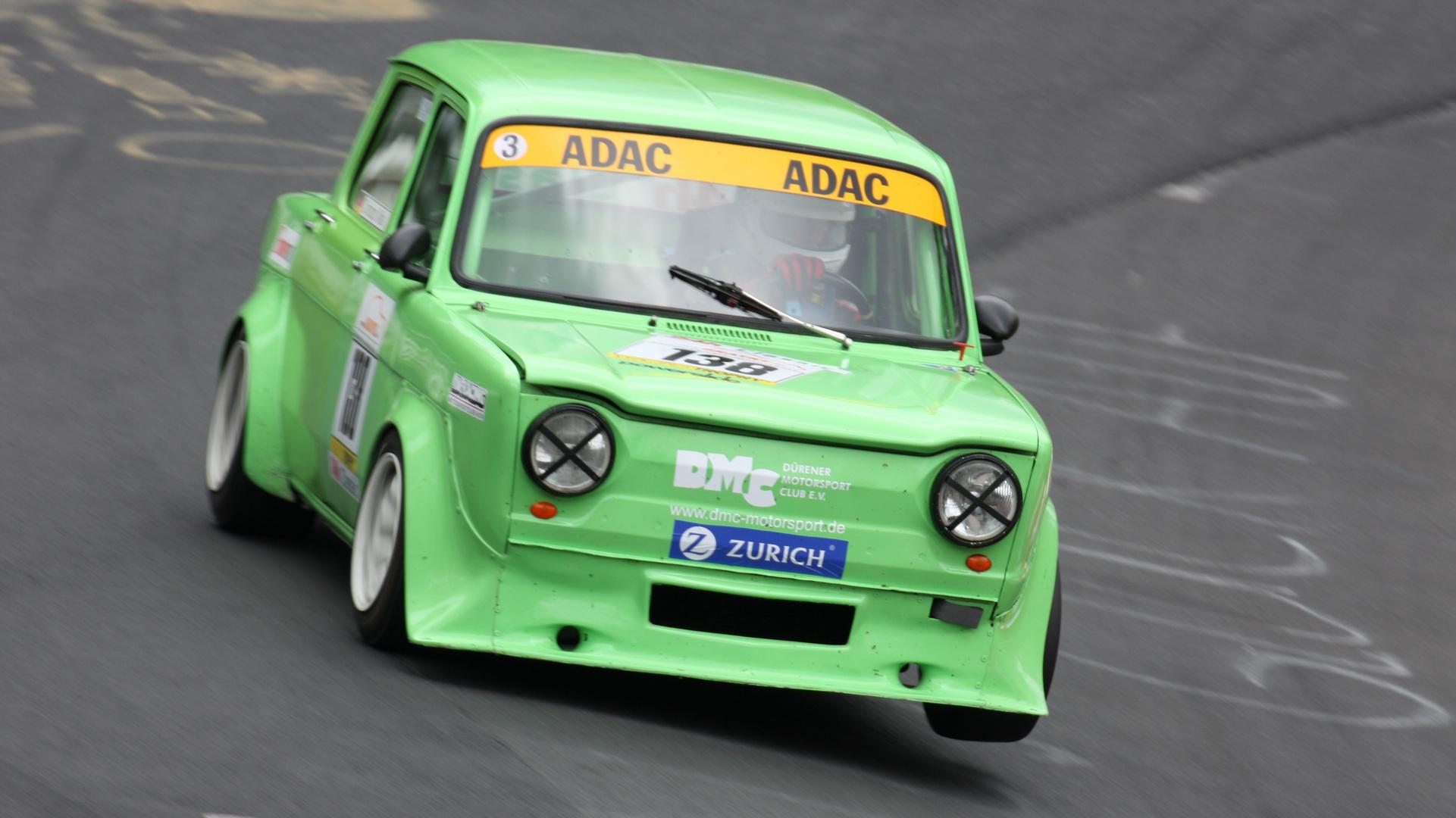 grüner Simca Rallye 2