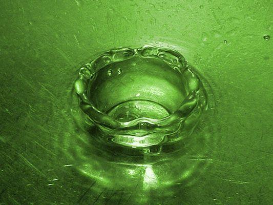Grüner Smaragd Tropfen!