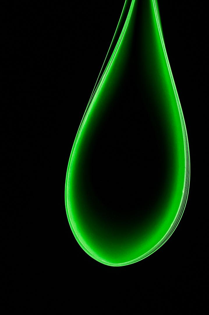 Grüner Tropfen