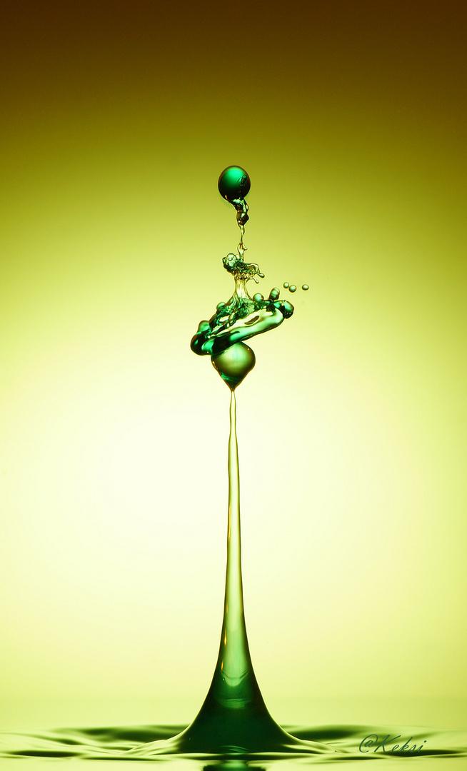 grünes Etwas