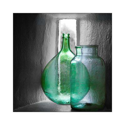 Grünes Glas...