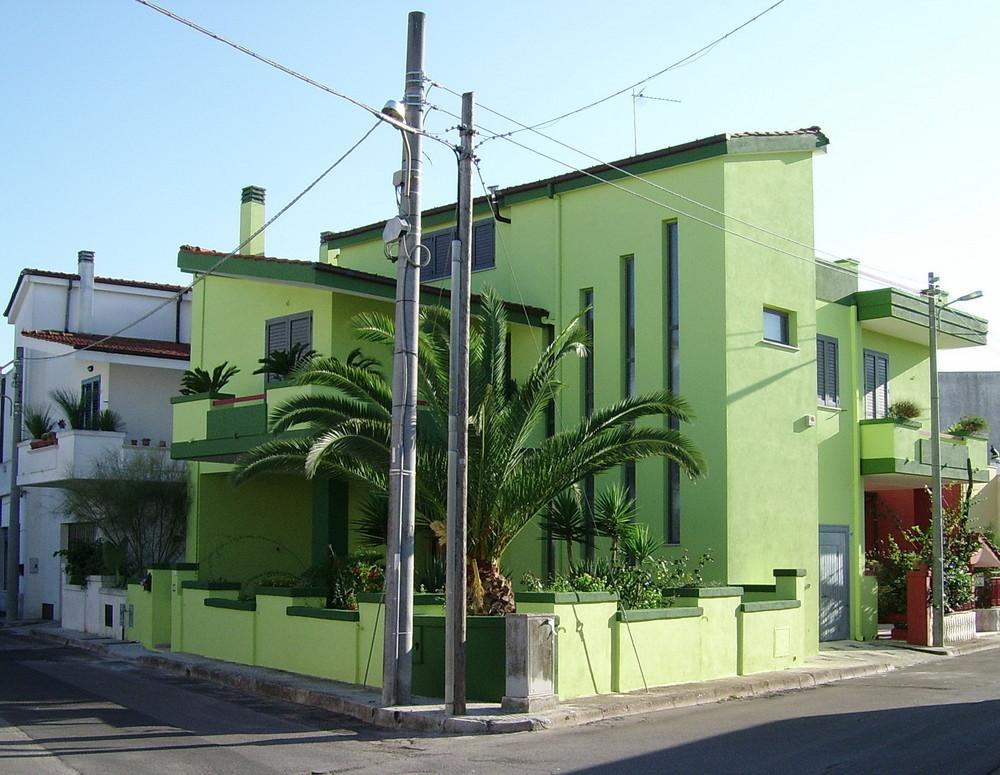 grünes (!) Haus