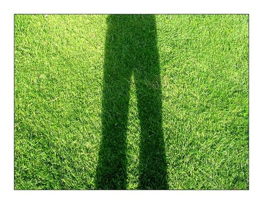 Grünes Selbstporträt