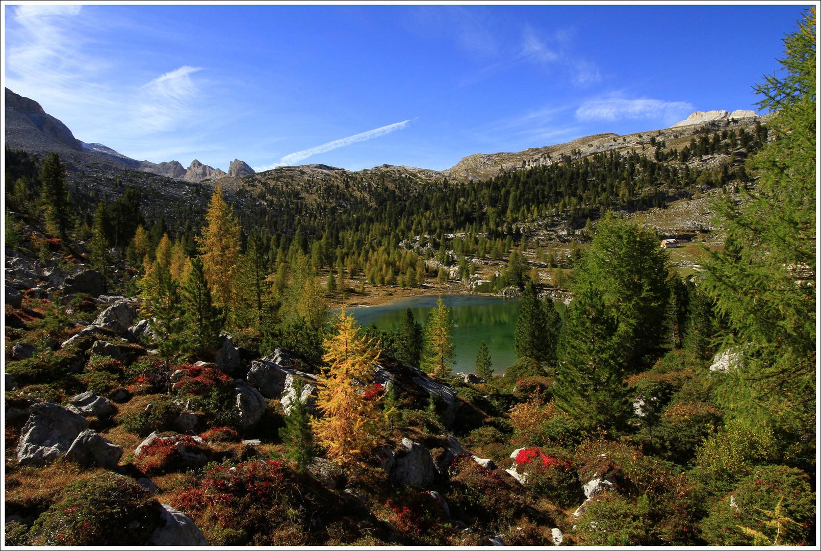 Grünsee (Fanes Dolomiten)