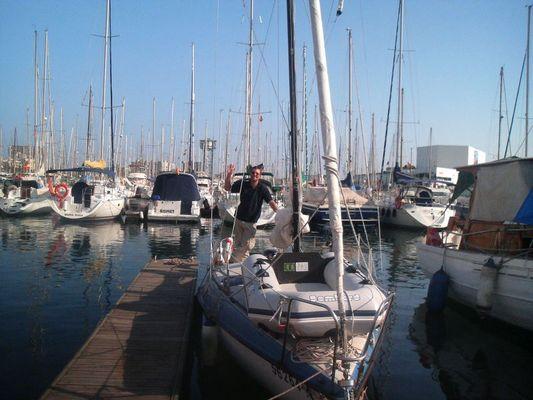 Gruesse aus Barcelona Port Vell