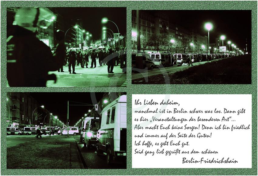 Grüße aus Berlin-Friedrichshain