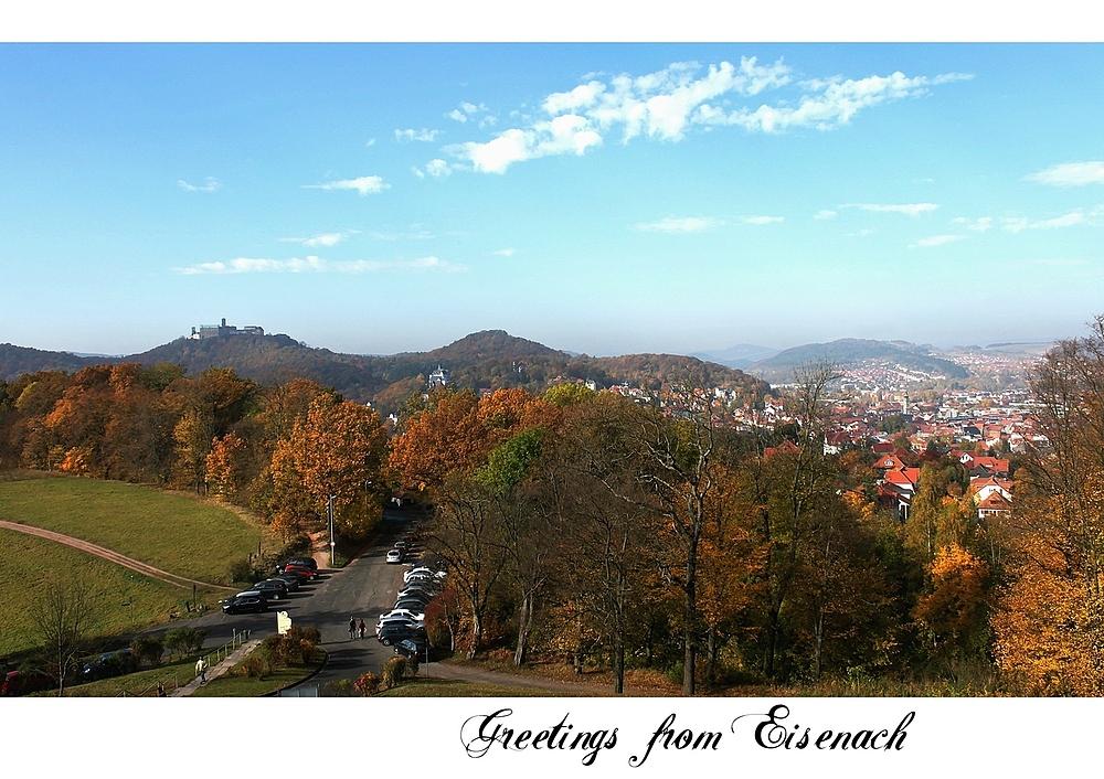 Grüße aus Eisenach