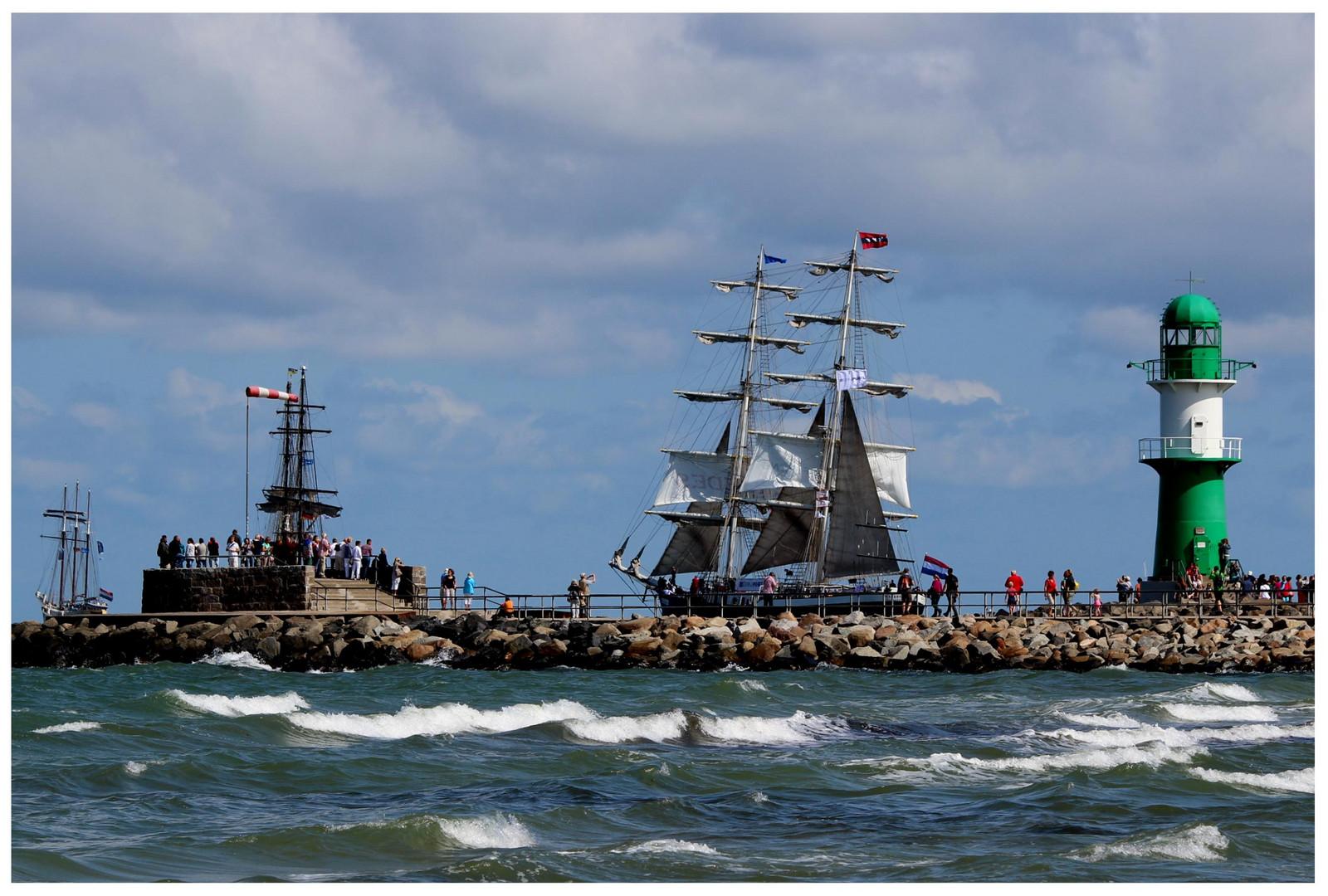 Grüße von der Hanse Sail 2013