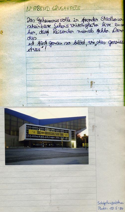 Grugahalle 86