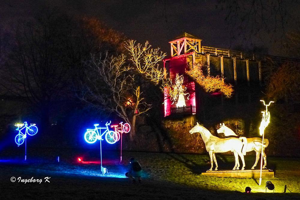 Grugapark - Lichterwochen - Pferdewiese