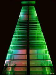 Grugaturm in Grün 2