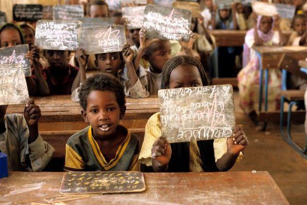 Grundschule im Tschad
