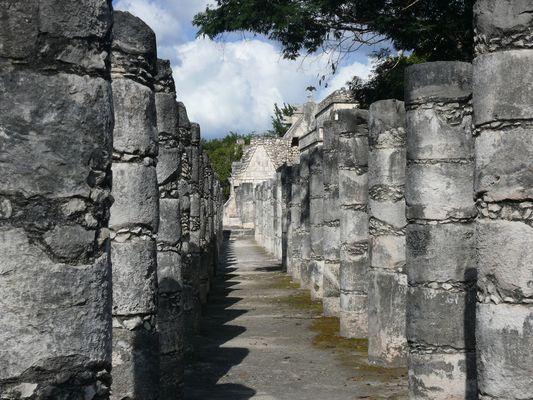 Gruppe der 1.000 Säulen in Chichén Itzá